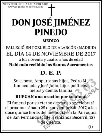 José Jiménez Pinedo